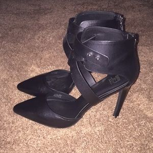 Joe's Jeans Black Heels